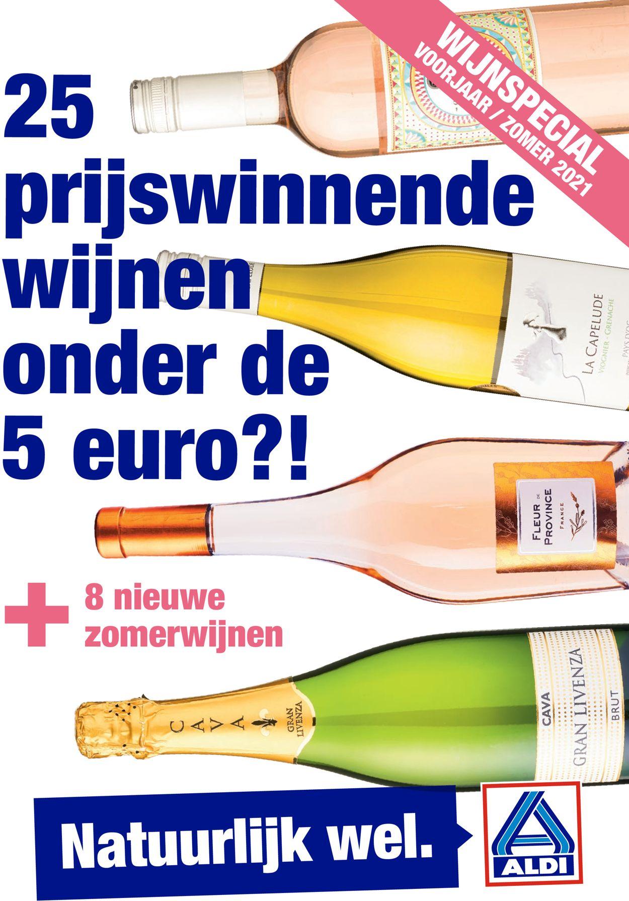 Catalogus van Aldi Wijnspecial van 05.04.2021