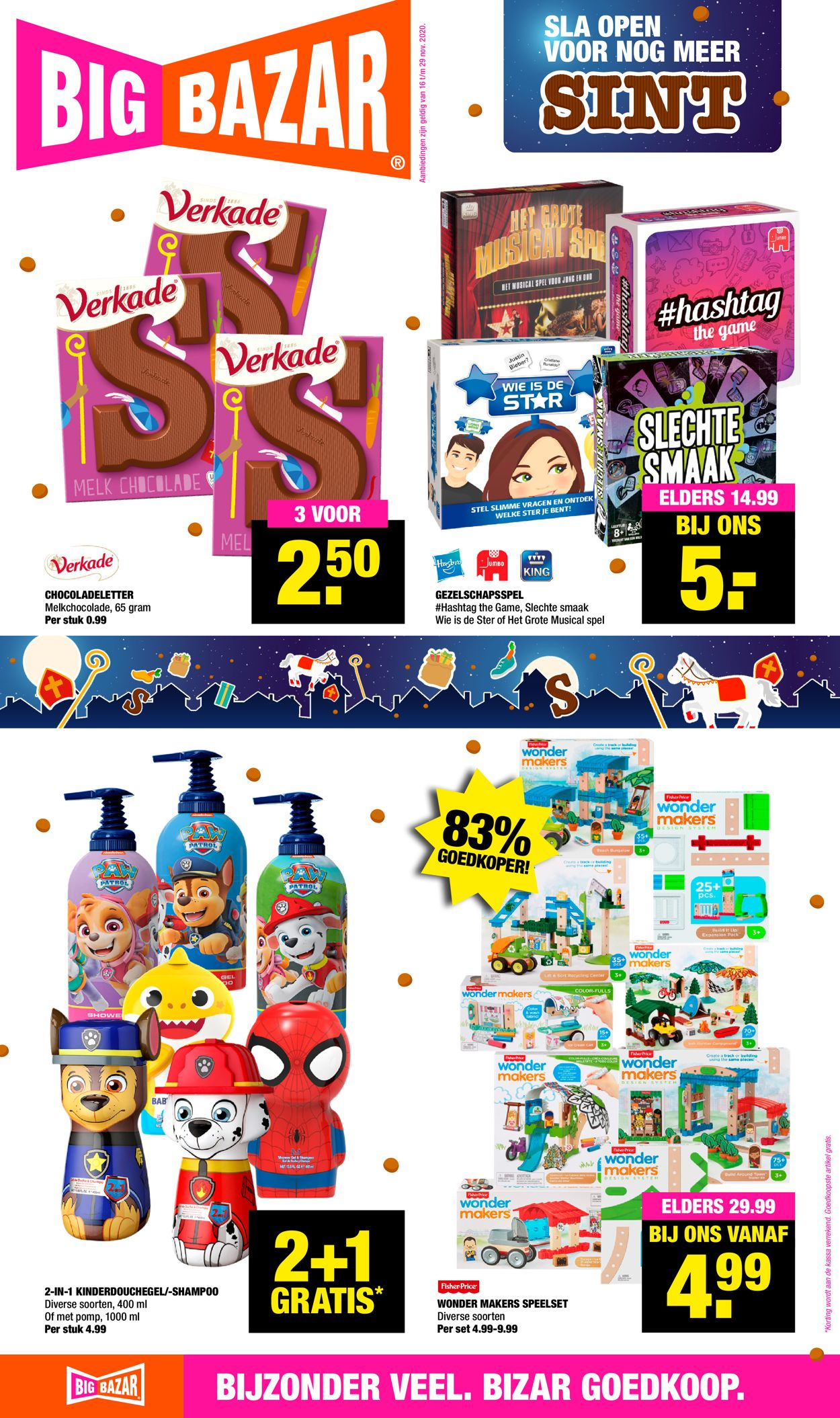 Catalogus van Big Bazar - Black Friday 2020 van 16.11.2020