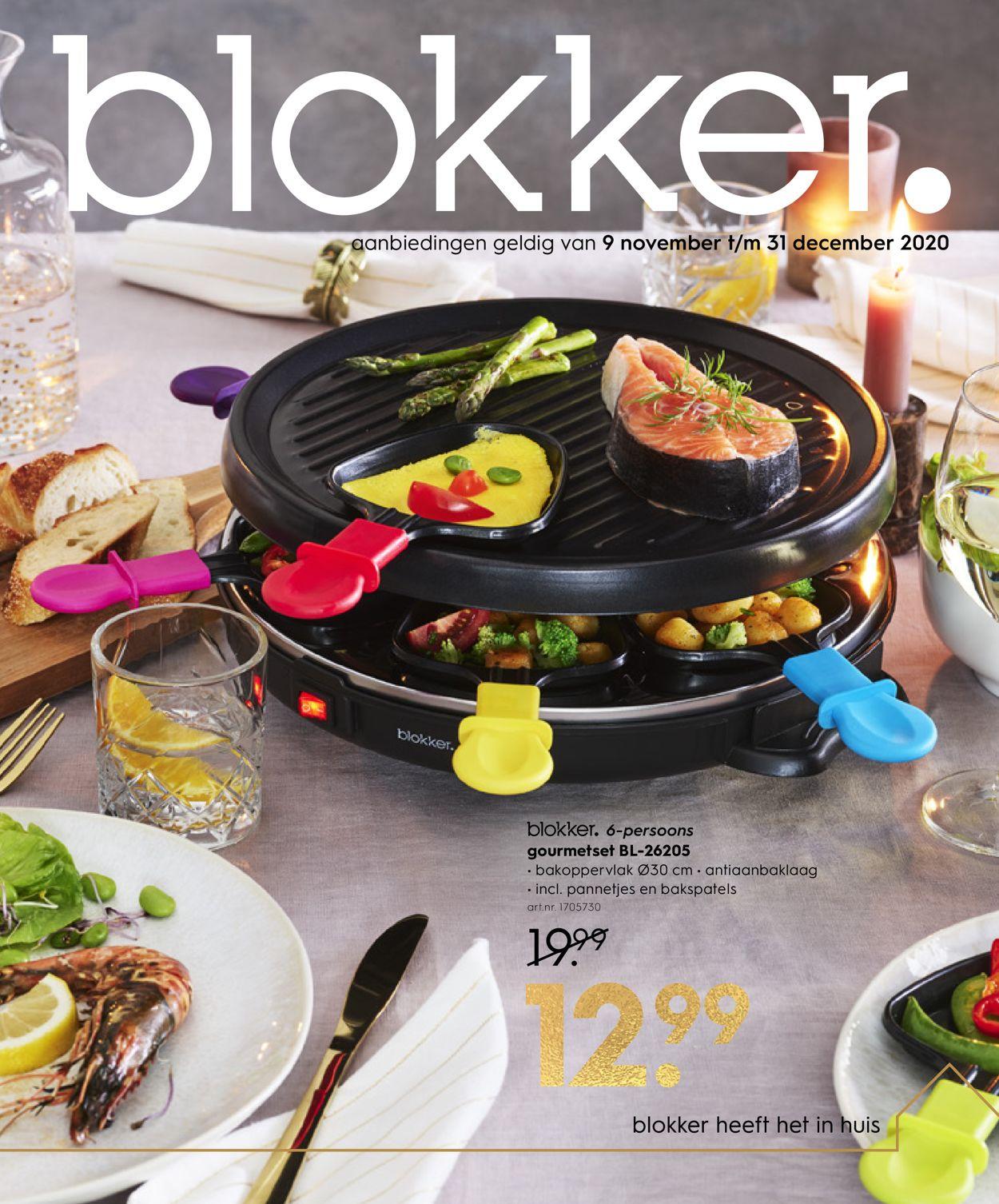 Catalogus van Blokker van 09.11.2020