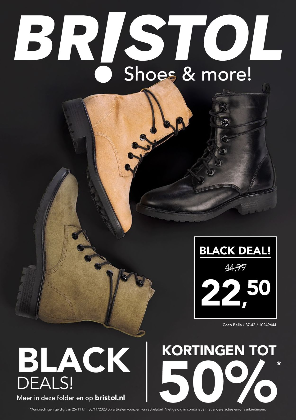 Catalogus van Bristol Black Friday 2020 van 25.11.2020