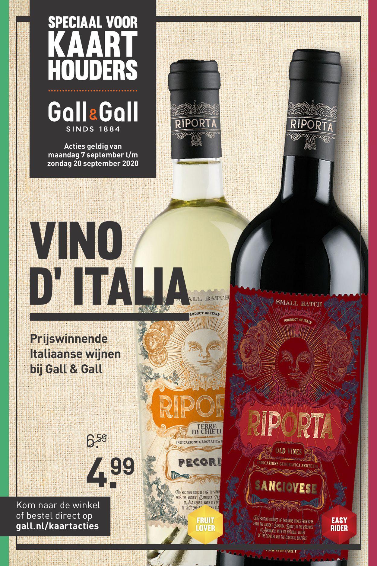 Catalogus van Gall & Gall van 07.09.2020