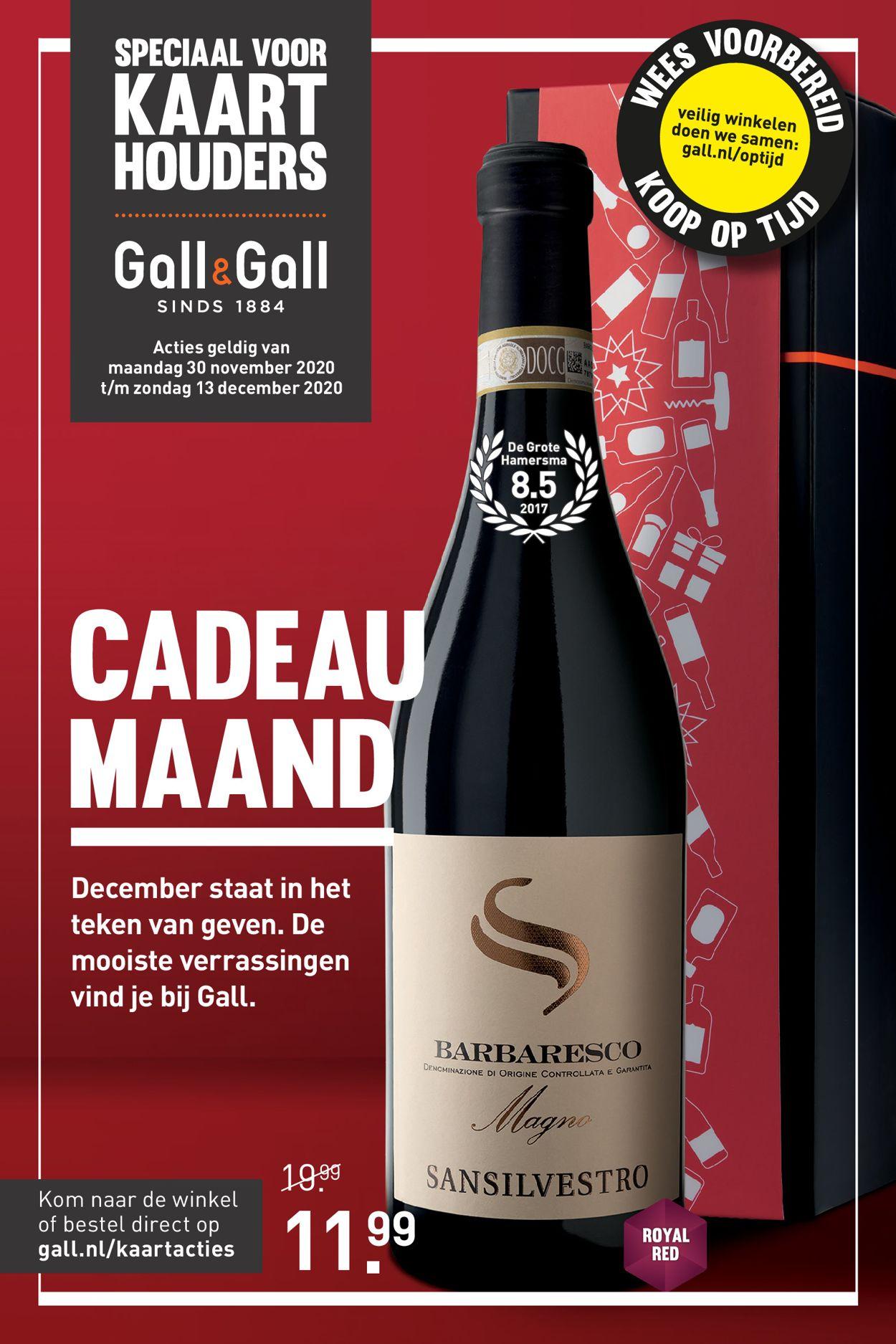 Catalogus van Gall & Gall van 30.11.2020