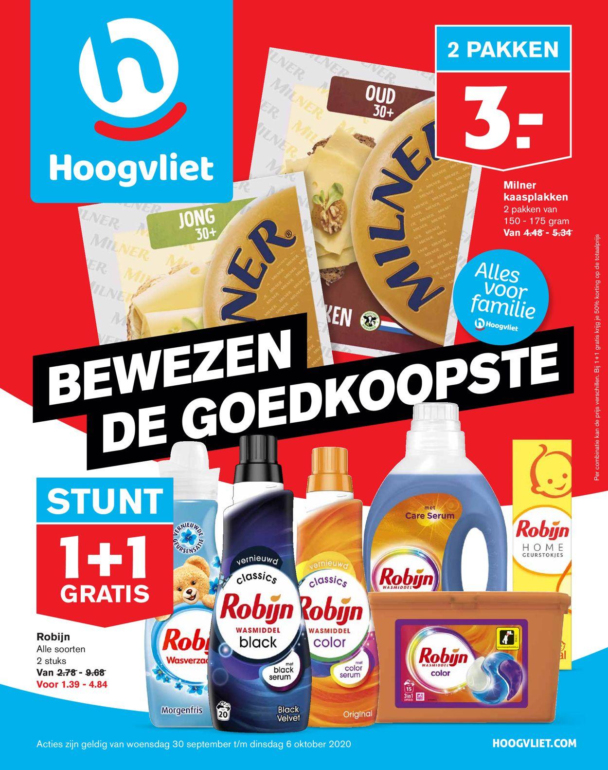 Catalogus van Hoogvliet van 30.09.2020