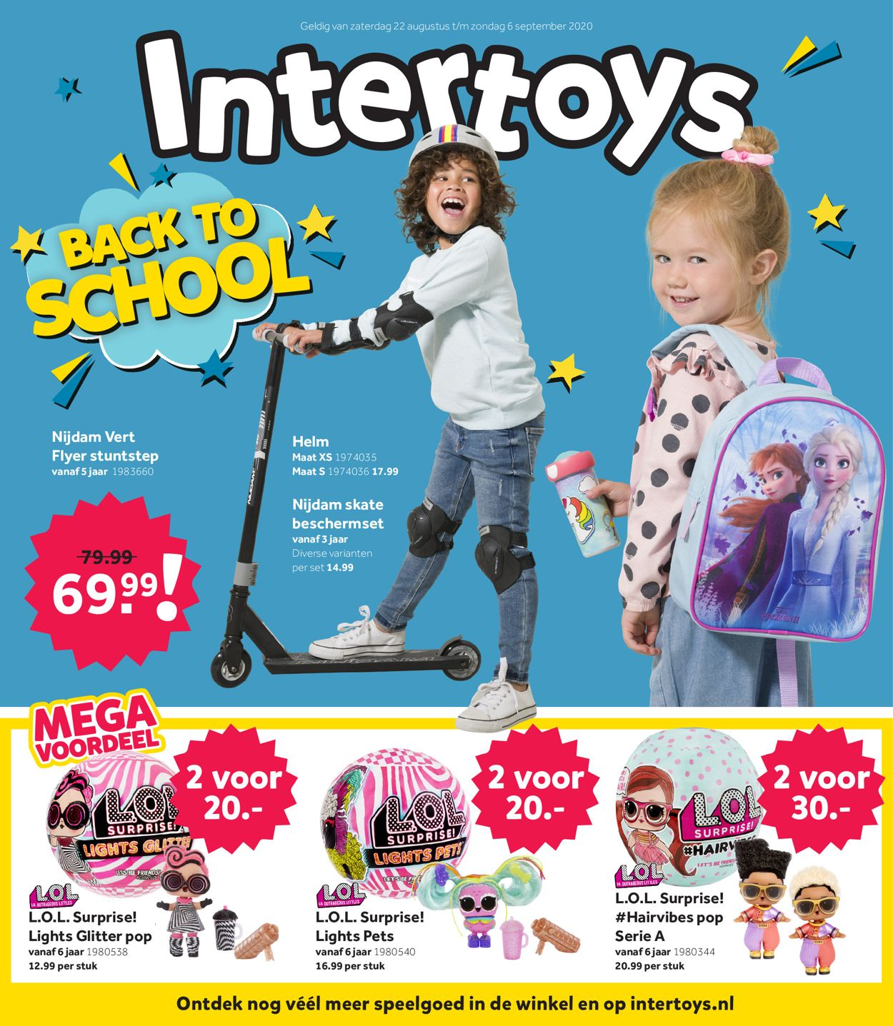 Catalogus van Intertoys van 22.08.2020