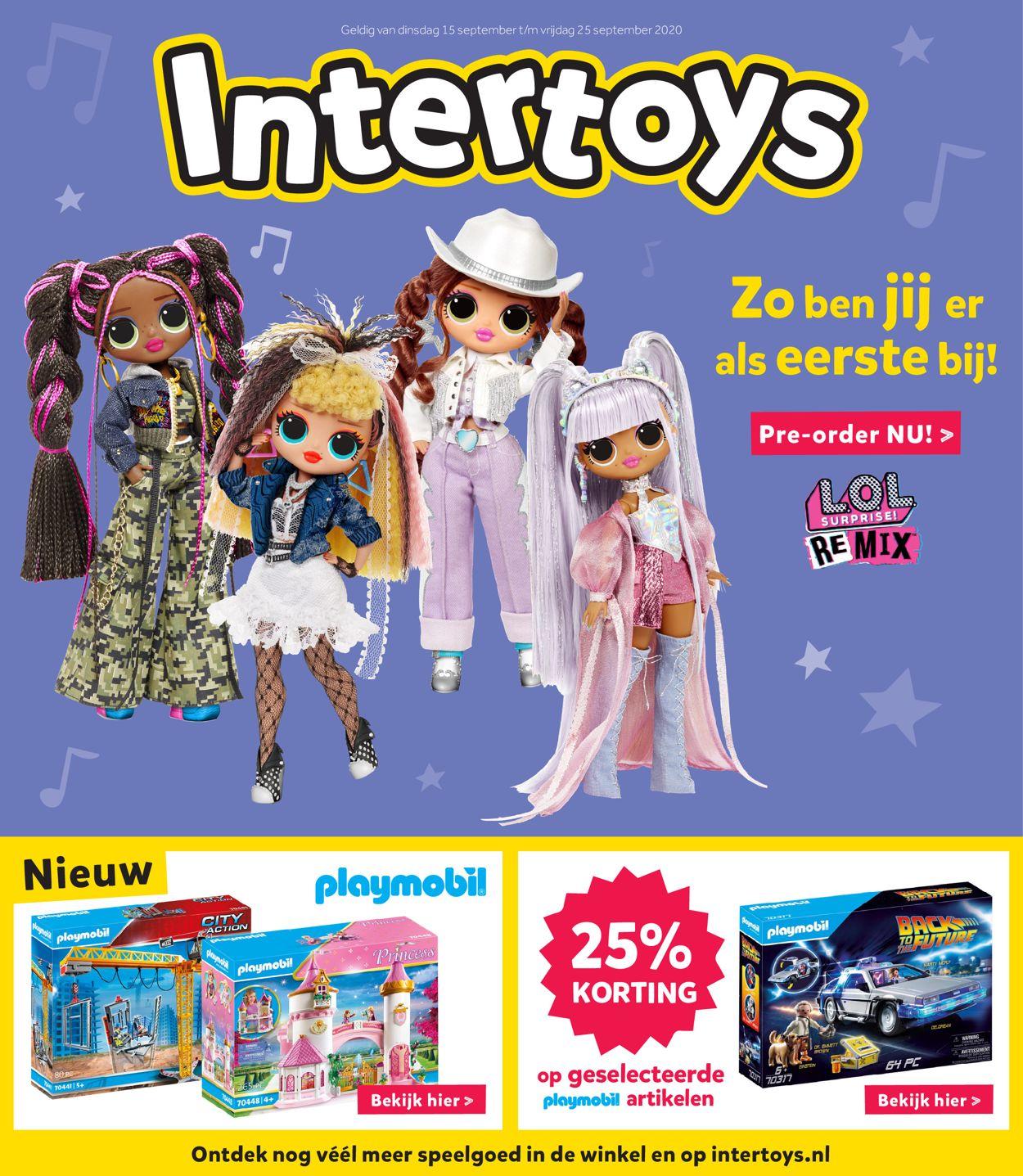 Catalogus van Intertoys van 15.09.2020