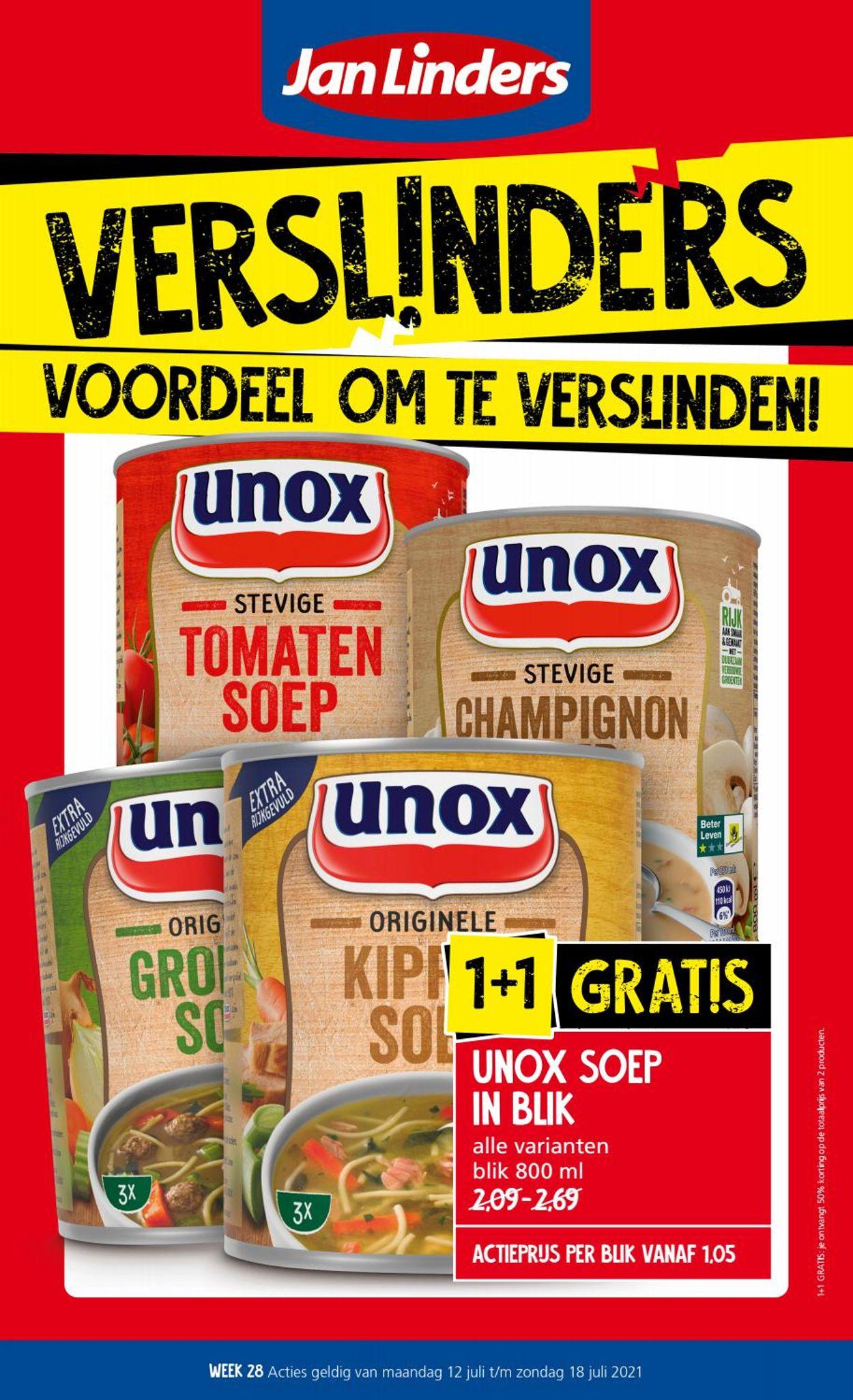 Catalogus van Jan Linders van 12.07.2021