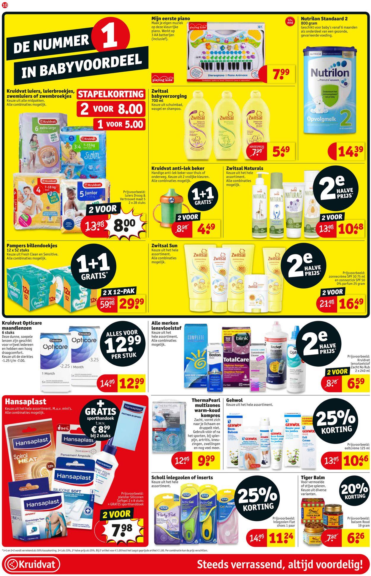 Britse winkel online winkel grote verkoop Kruidvat Actuele folder 23.07 - 04.08.2019 [6] - wekelijkse ...