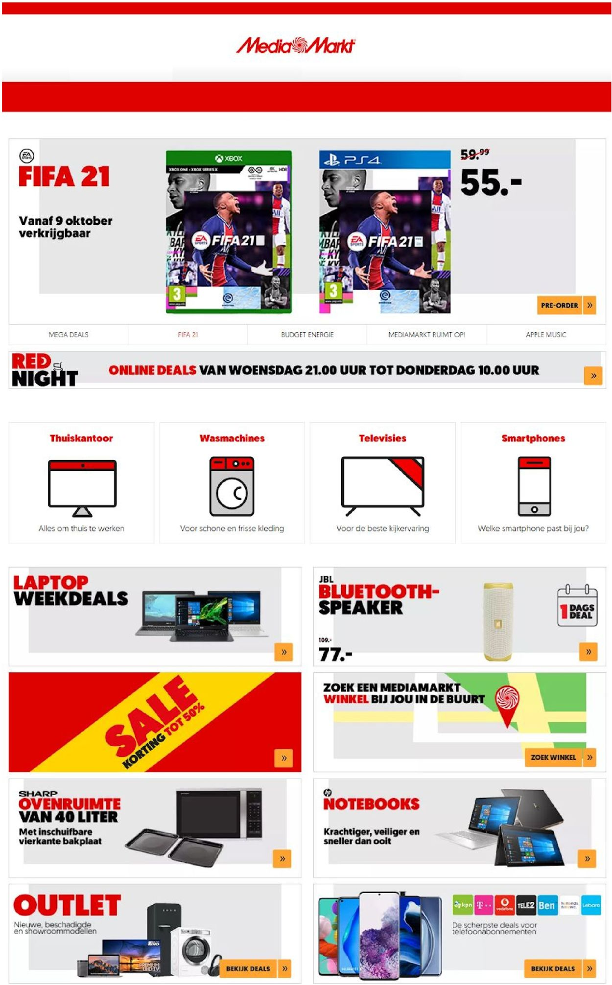 Catalogus van Media Markt van 01.10.2020