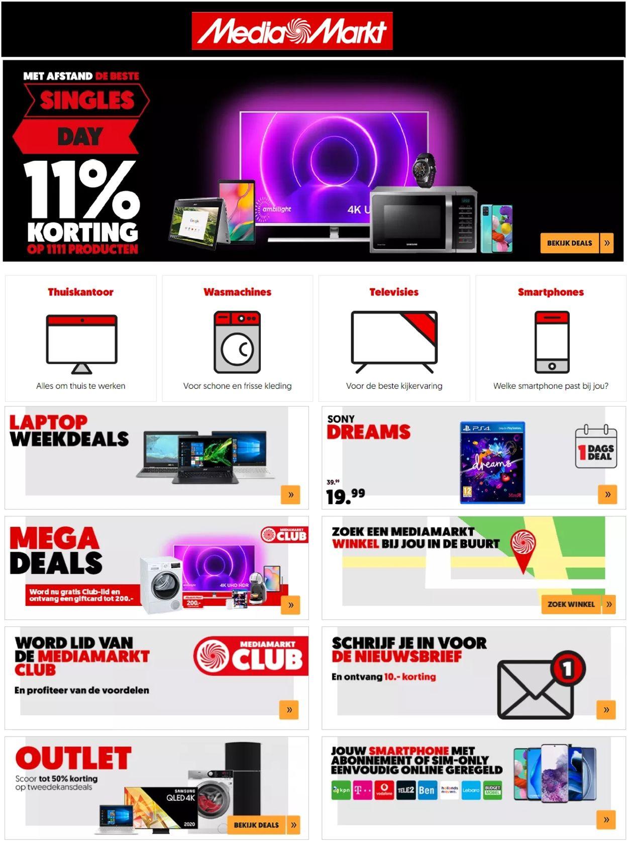 Catalogus van Media Markt van 11.11.2020