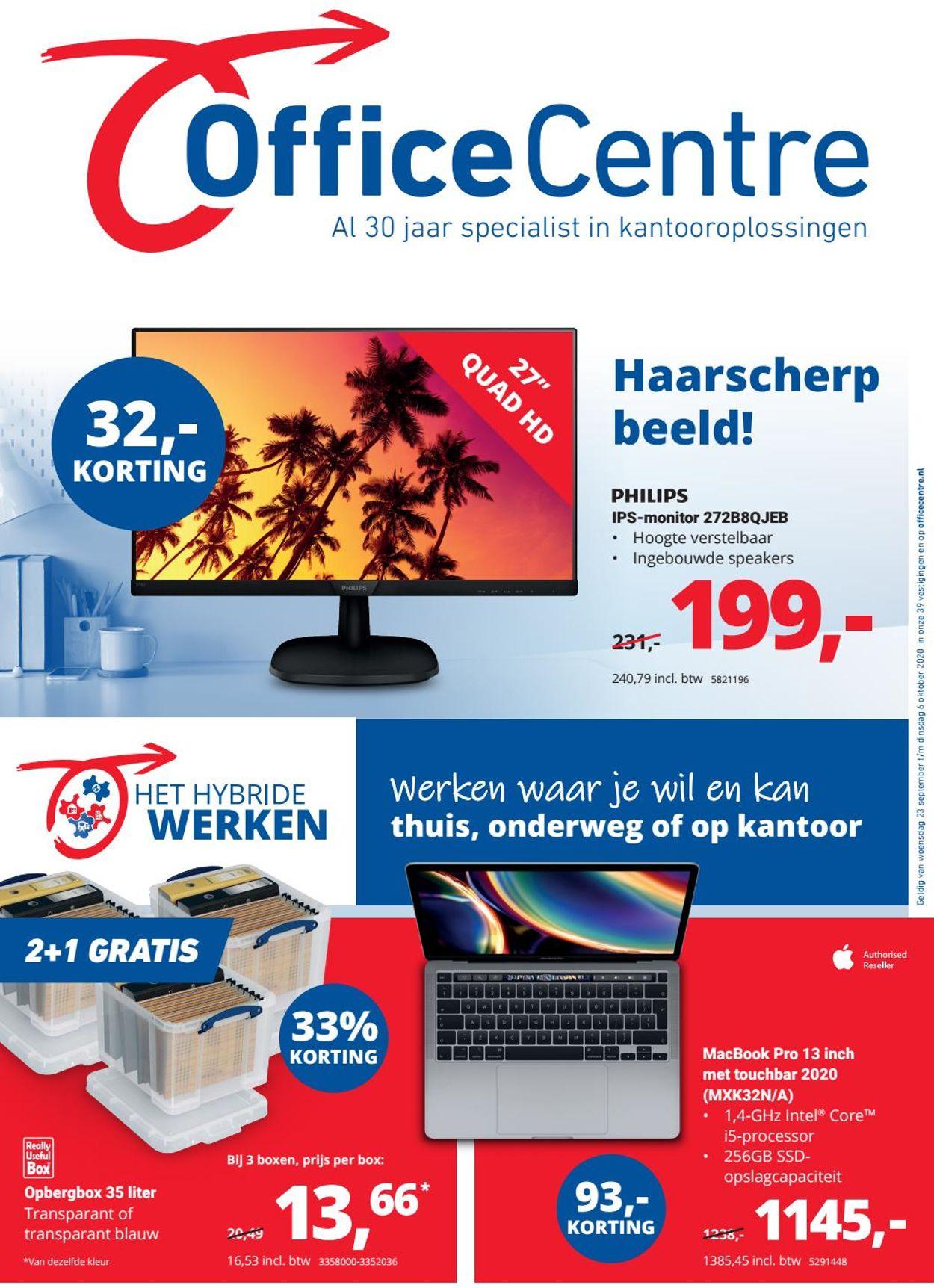 Catalogus van Office Centre van 23.09.2020