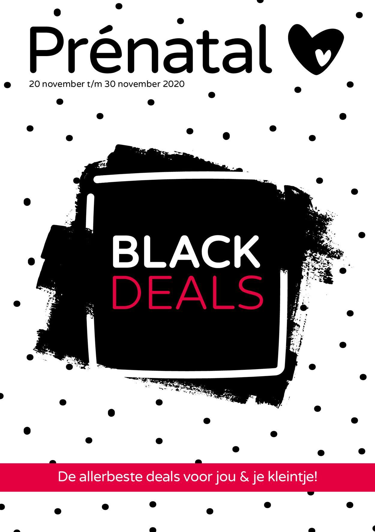 Catalogus van Prénatal - Black Friday 2020 van 20.11.2020
