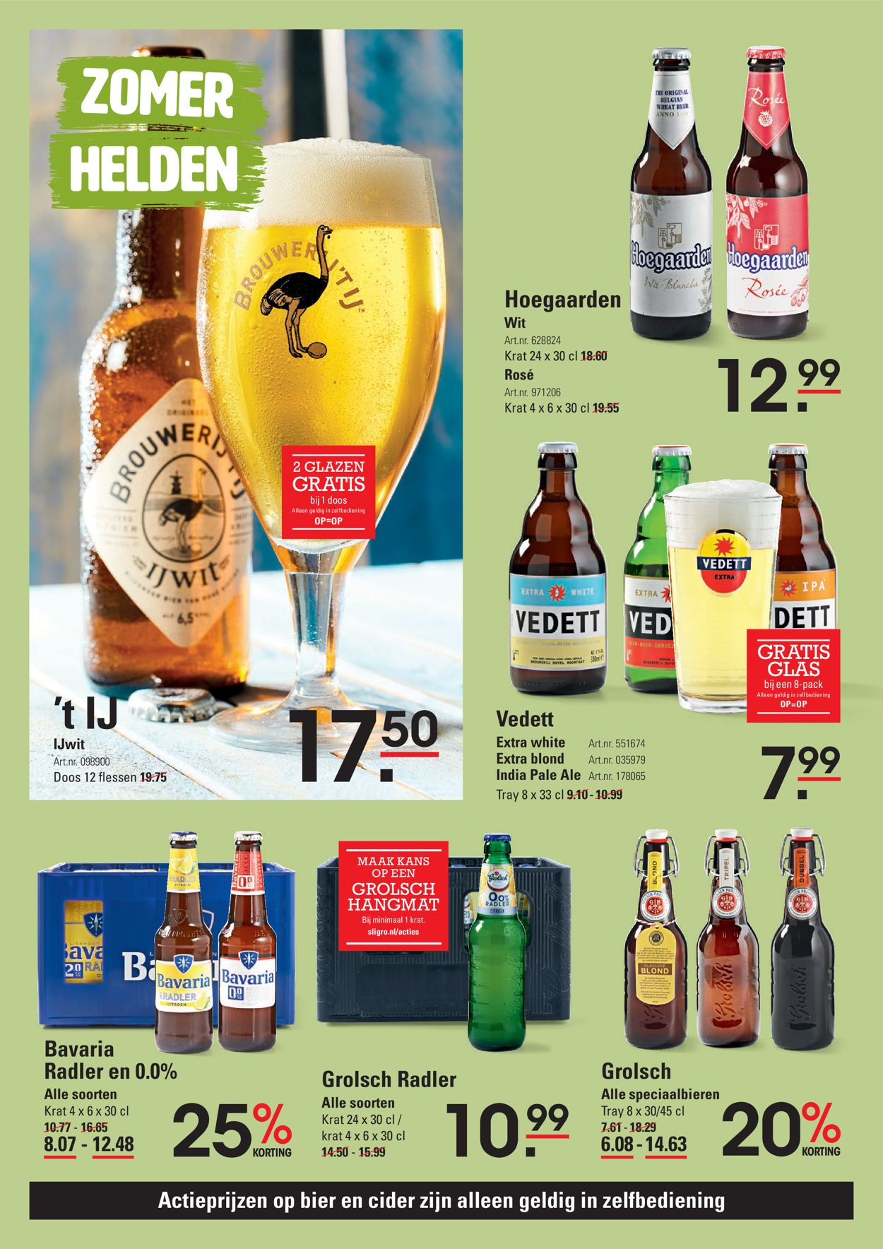 Catalogus van Sligro van 06.08.2020