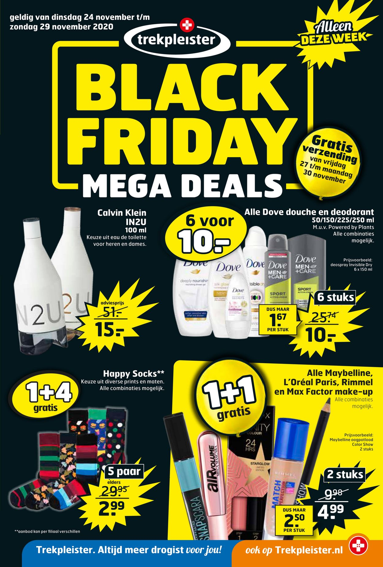 Catalogus van Trekpleister Black Friday 2020 van 24.11.2020