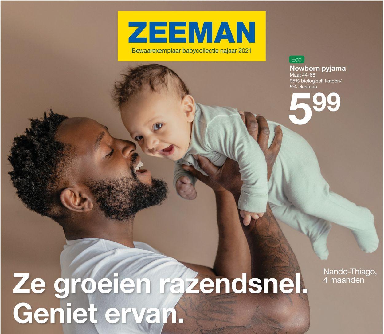 Catalogus van Zeeman van 01.08.2021