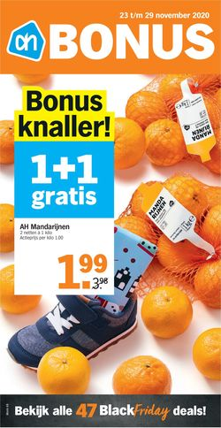Catalogus van Albert Heijn Black Friday 2020 van 23.11.2020