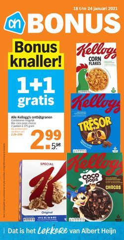 Actuele folder Albert Heijn
