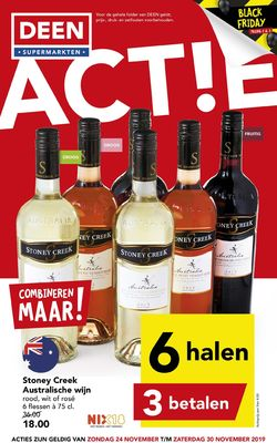 Catalogus van Deen - Black Friday 2019 van 24.11.2019