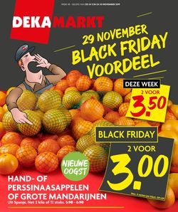 Catalogus van Dekamarkt - Black Friday 2019 van 24.11.2019