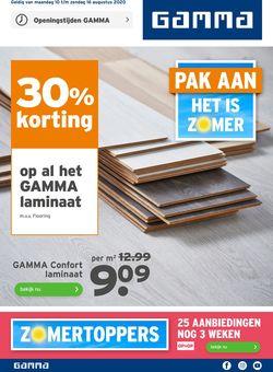 Catalogus van Gamma van 10.08.2020