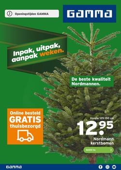 Catalogus van Gamma - Black Friday 2019 van 18.11.2019