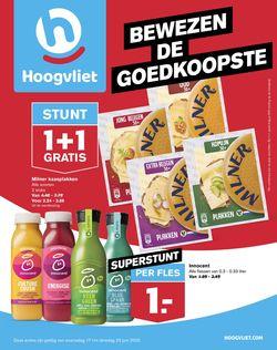 Catalogus van Hoogvliet van 17.06.2020