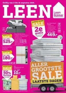 Catalogus van Leen Bakker van 03.08.2020