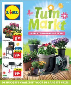 Catalogus van Lidl Tuinmarkt van 07.04.2021