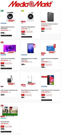 Actuele folder Media Markt