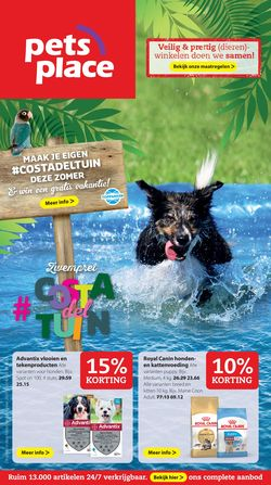 Catalogus van Pets Place van 20.07.2020