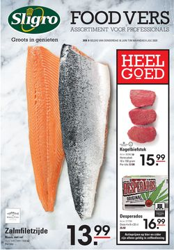 Catalogus van Sligro van 18.06.2020