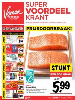 Catalogus van Vomar van 09.08.2020
