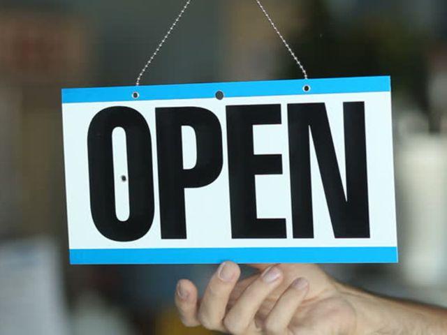 Winkels gaan mondjesmaat weer open